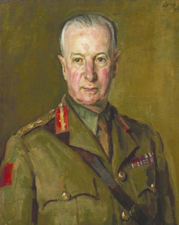 Lamb Henry. Генерал Frederick Pile.