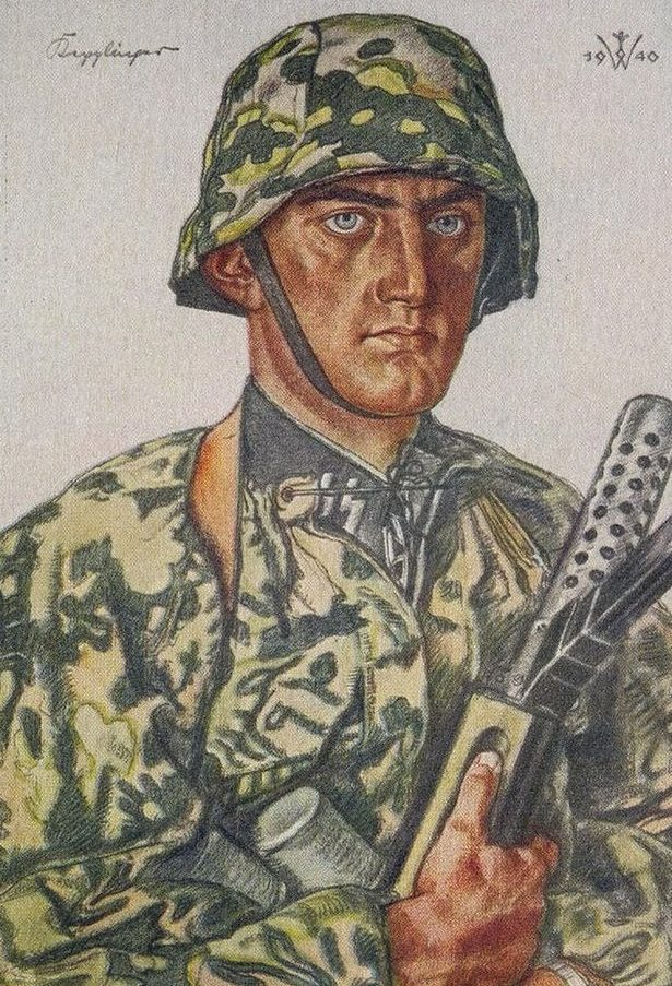 Willrich Wolfgang. Обершарфюрер СС Kepplinger.