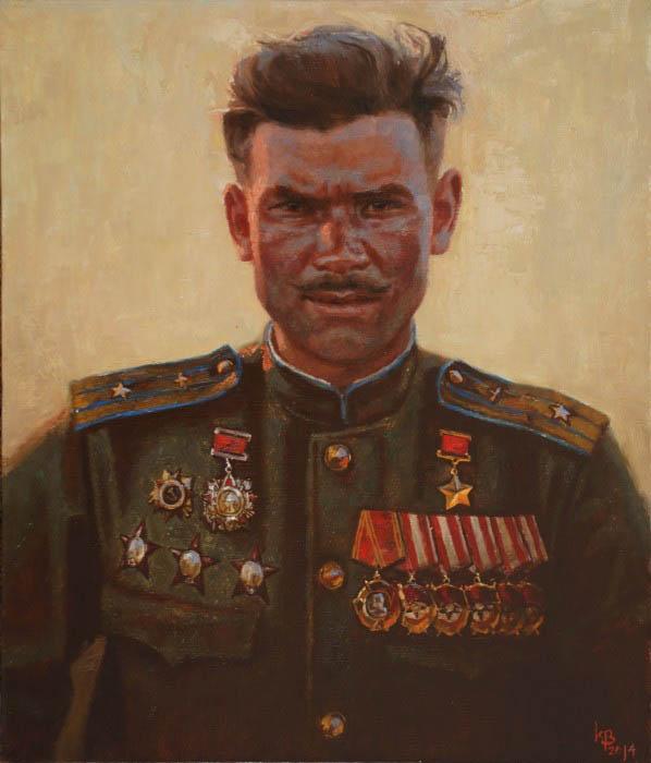 Войнов Константин. Портрет Тотмина Н.
