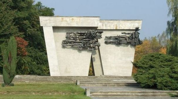 Памятник мученичества военнопленных.