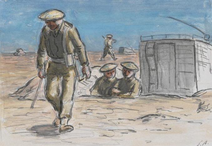 Ardizzone Edward. Пехотный батальон в пустыне.