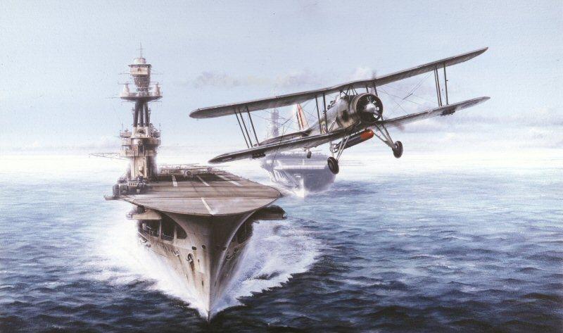 Berryman Ivan. Авианосец «Eagle».