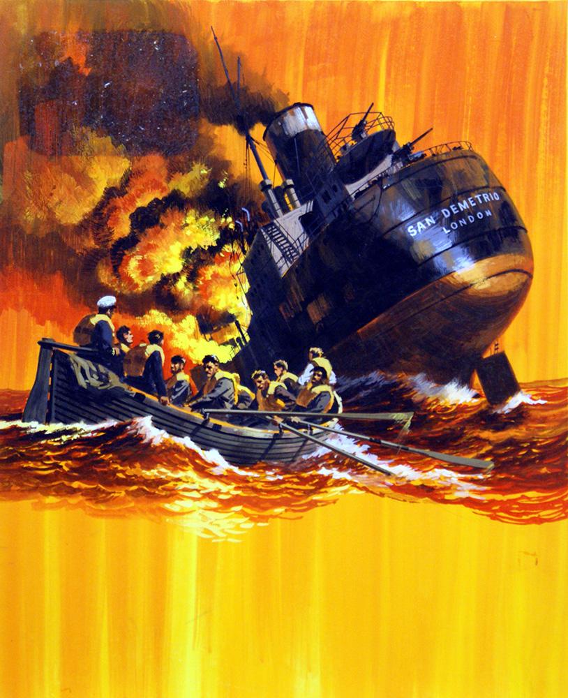 Hardy Wilf. Спасение с судна San Demetrio.
