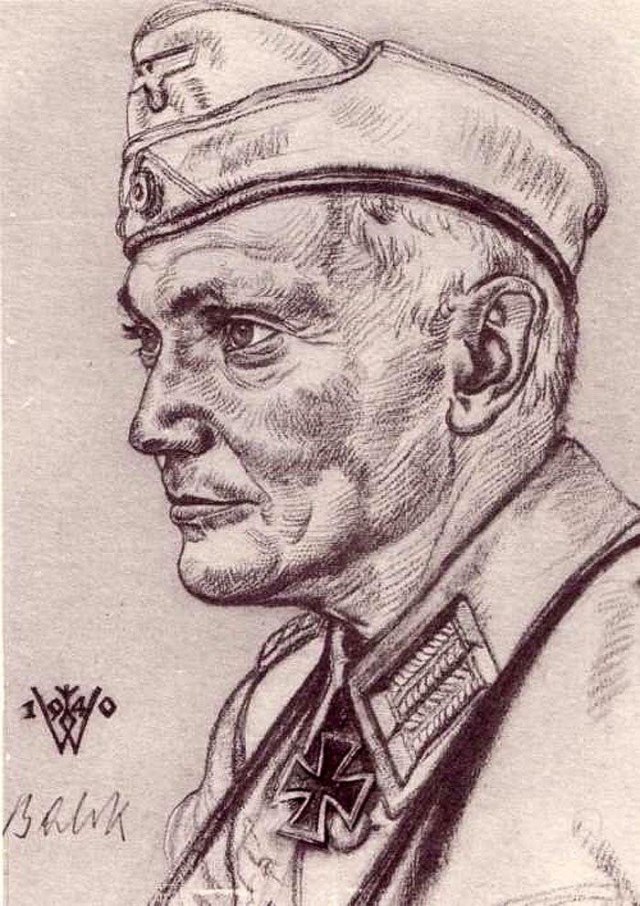 Willrich Wolfgang. Генерал танковых войск Hermann Balck.
