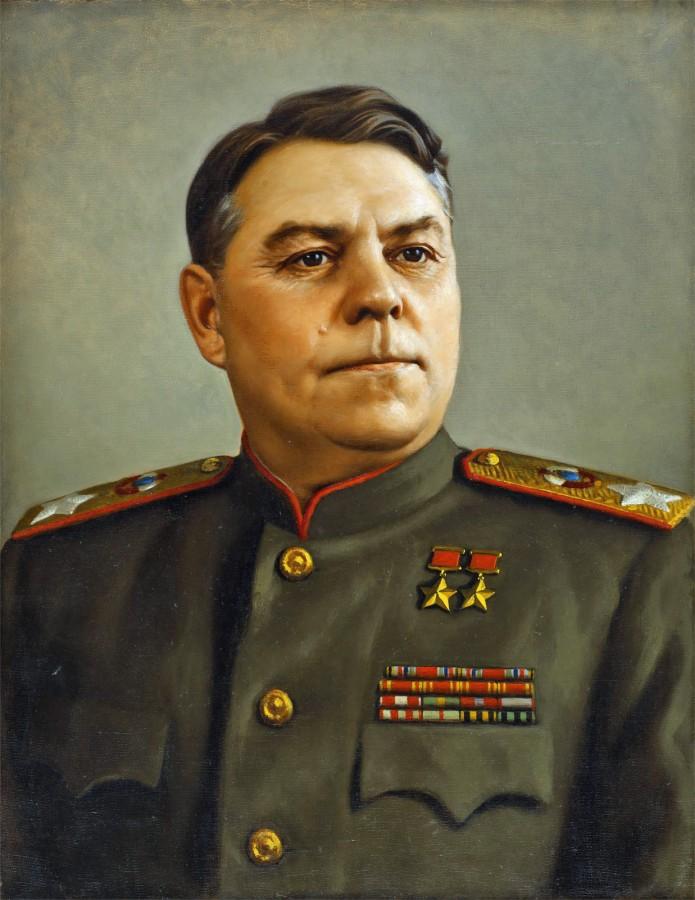 Лактионов Александр. Маршал Василевский.