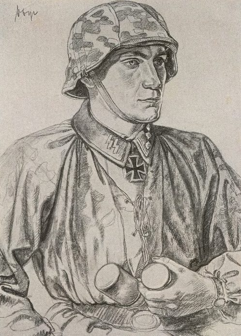 Willrich Wolfgang. Штурмбаннфюрер СС Fritz Vogt.