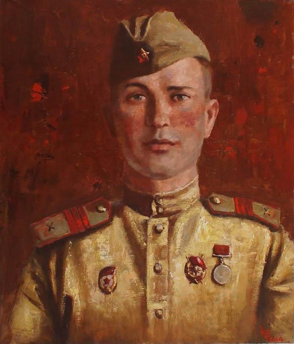 Войнов Константин. Портрет сержанта Данилова.