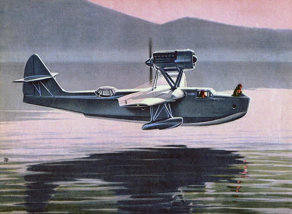 Молчанов Эдуард. Летающая лодка.