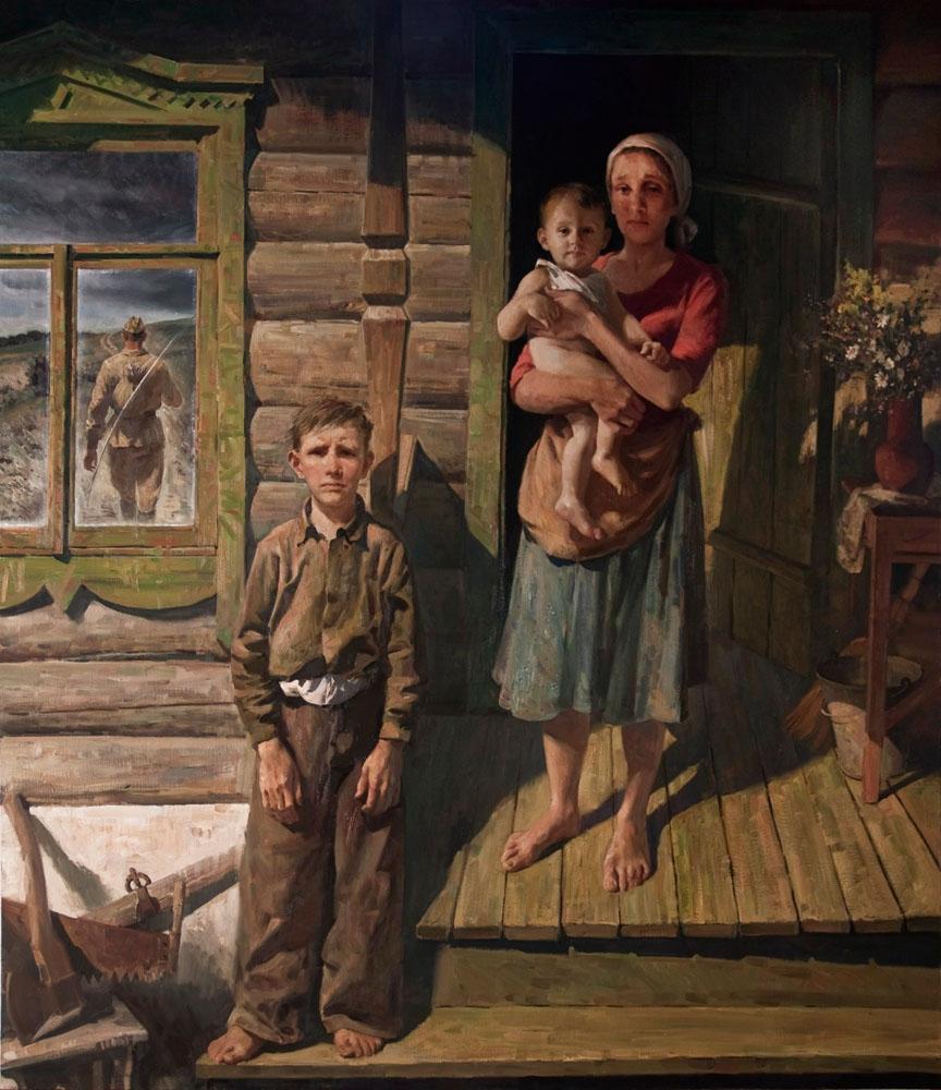 Овчаренко Илья. Лето 1941-го.