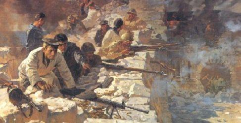 Присекин Николай. Севастопольцы. Год 1941-й.