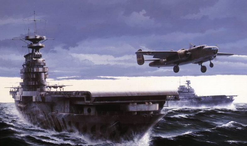 Berryman Ivan. Авианосец «Hornet».