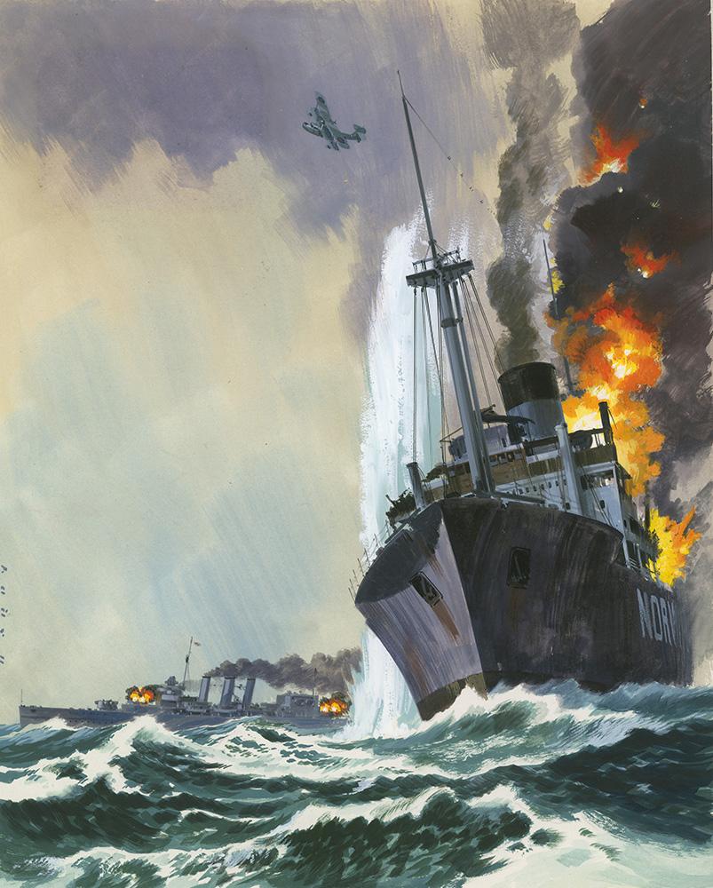 Hardy Wilf. Гибель замаскированного крейсера «Deadly Penguin».
