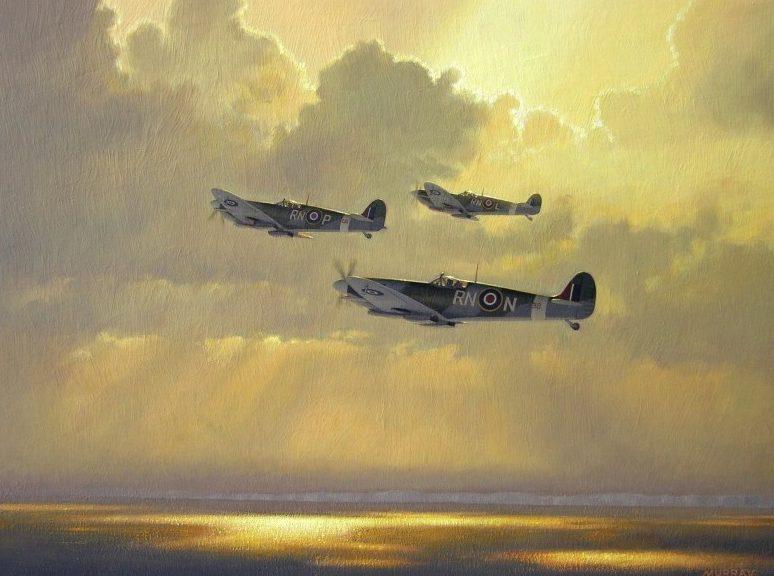 Murray Roger. Истребитель Supermarine Spitfire.