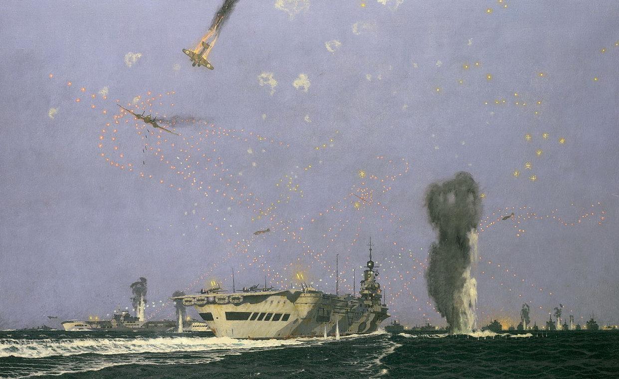 Pears Charles. Атака на авианосец.