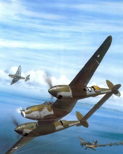 Wyllie Iain. Истребитель Lockheed P-38H Lightning.