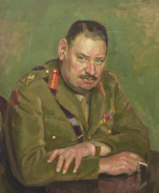 Lamb Henry. Генерал-майор Whittaker.