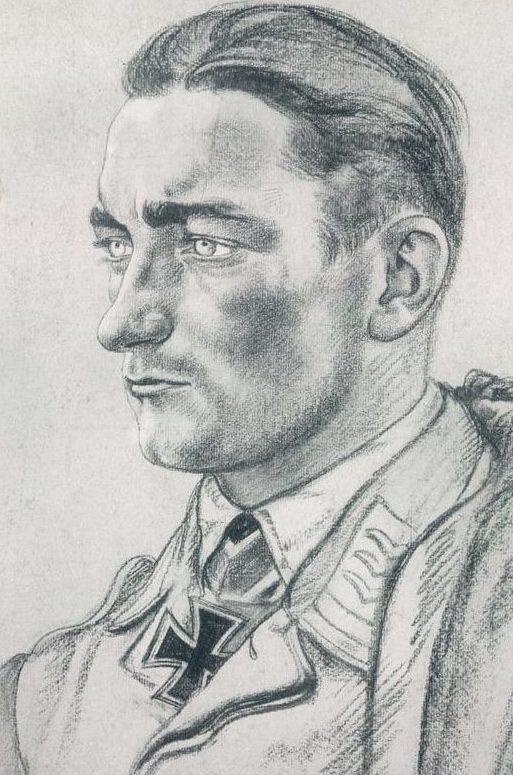 Willrich Wolfgang. Лейтенант Gerhard Grenzel.