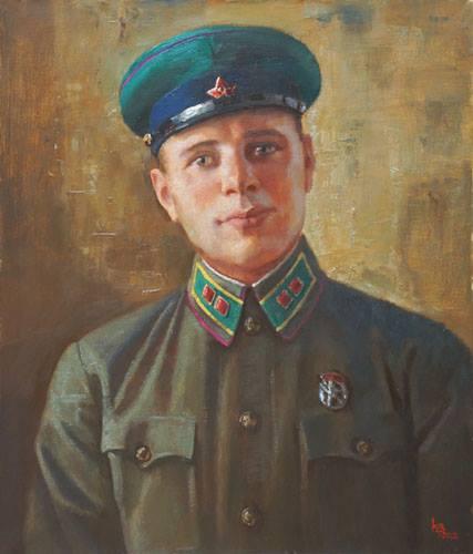 Войнов Константин. Портрет Ракуса Д.