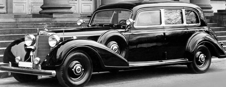 Автомобиль Гитлера - седан Mercedes 770K (W-150).