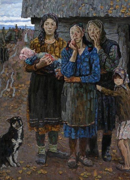 Ткачев С. Осень 1941 года. Война пришла. Русские женщины.