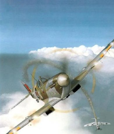 Wyllie Iain. Истребитель Supermarine Spitfire HF IXC.