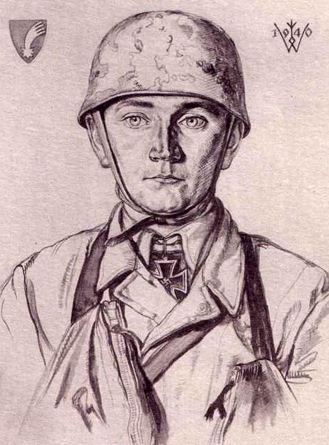 Willrich Wolfgang. Лейтенант Koch.