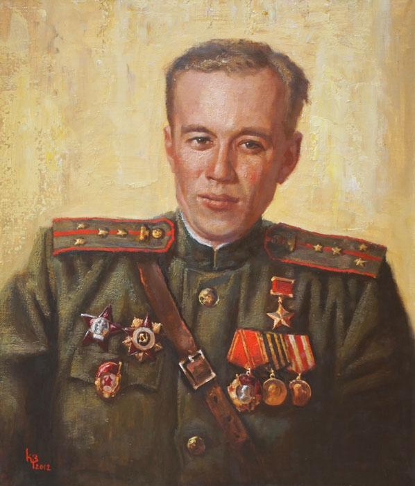 Войнов Константин. Портрет Гриболева П.