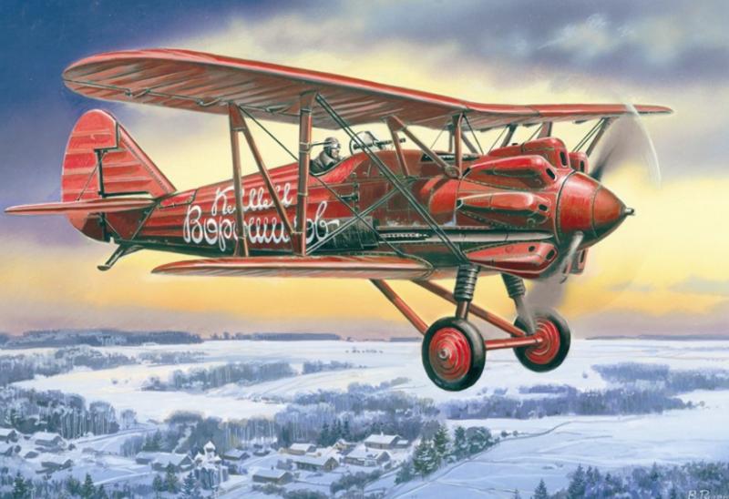 Руденко Валерий. Истребитель И-5.