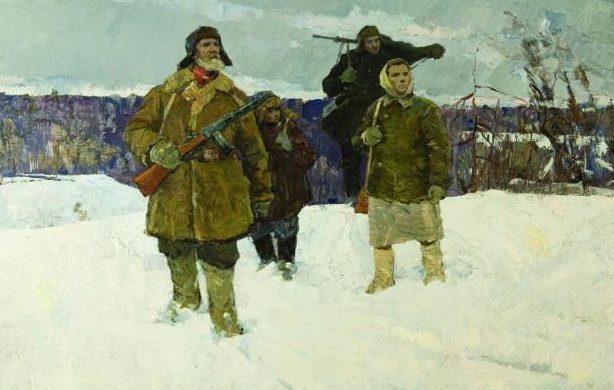Майоров Петр. Партизанские будни.