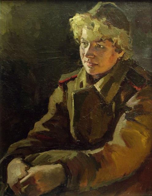 Мелентьев Олег. Портрет медсестры.