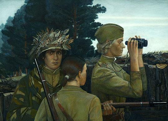 Петрунина Екатерина. Женщины-снайперы.