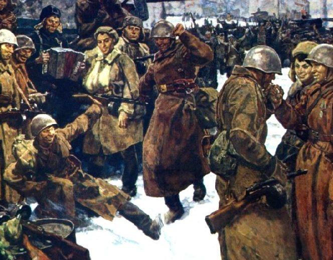 Самсонов Марат. Бойцы Сталинграда.