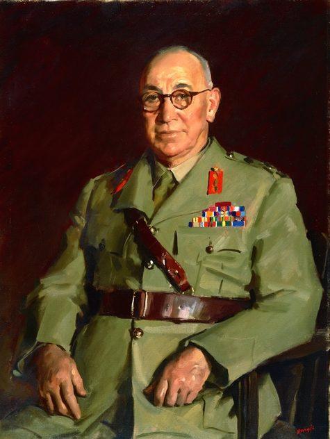 Dargie William. Генерал-майор George Wootten.