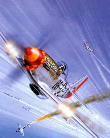 Wyllie Iain. Истребитель North American P-51 D «Mustang».