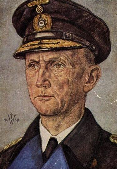 Willrich Wolfgang. Адмирал Karl Dönitz.