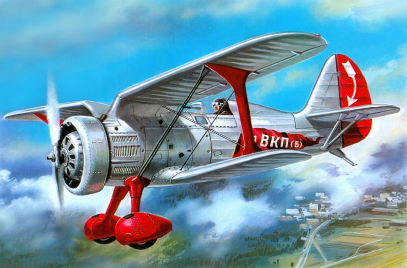 Руденко Валерий. Истребитель И-15.