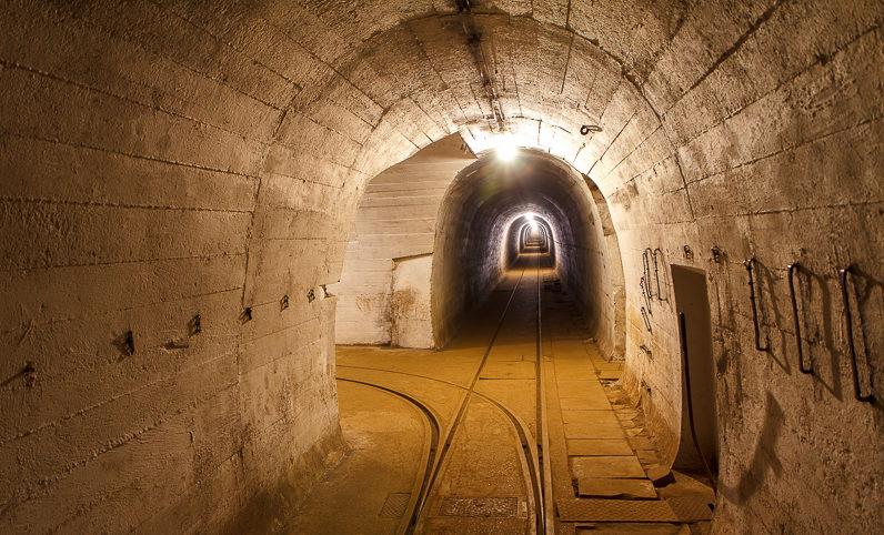 Главная галерея подземной системы тоннелей.