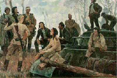 Одайник Вадим. Они защищали Родину.