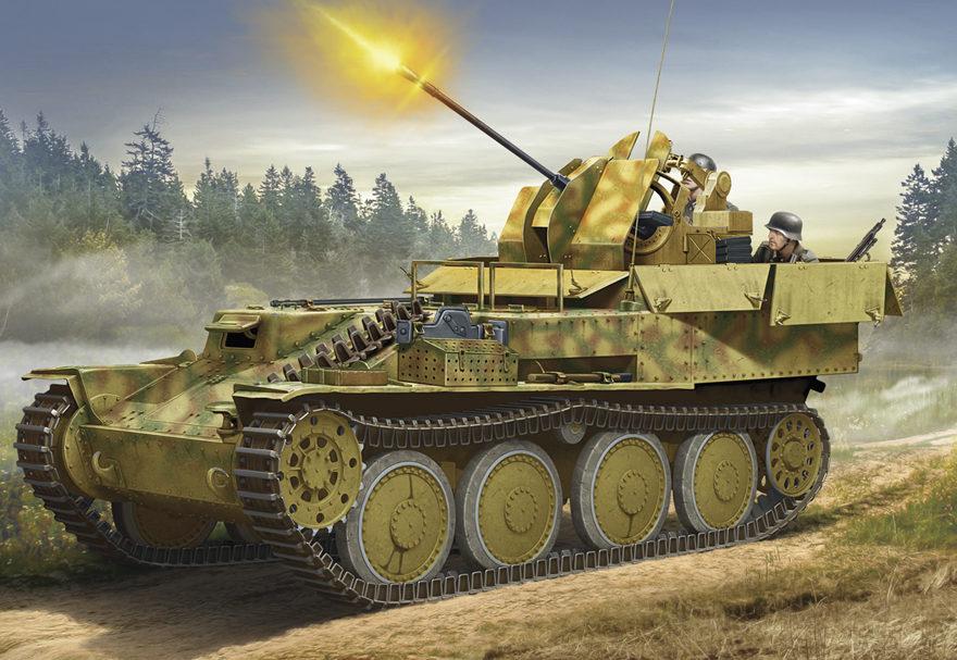 Петелин Валерий. Зенитное орудие Flakpanzer 38(t).