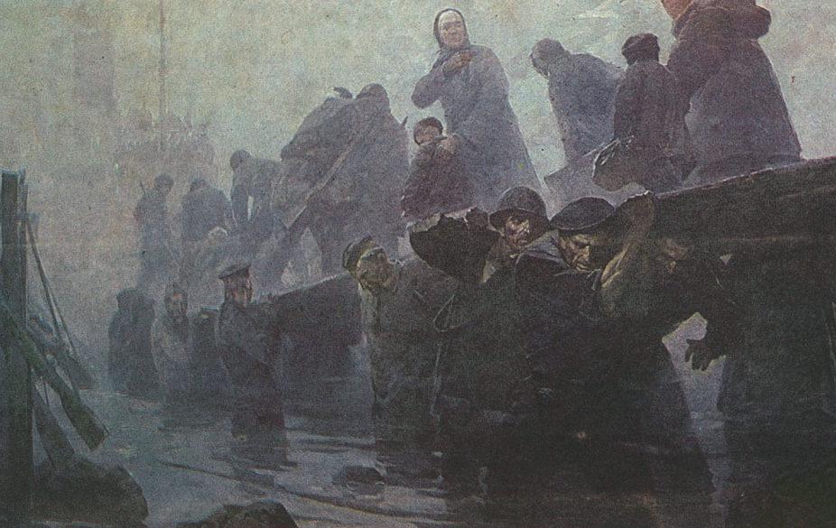 Присекин Николай. Балтийские Атланты.