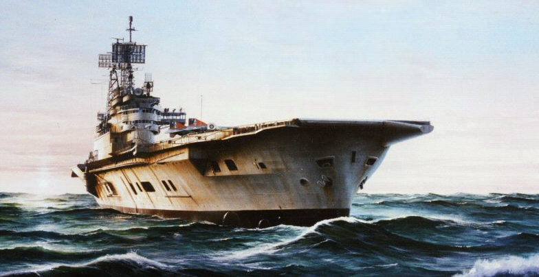 Berryman Ivan. Авианосец «Ark Royal».