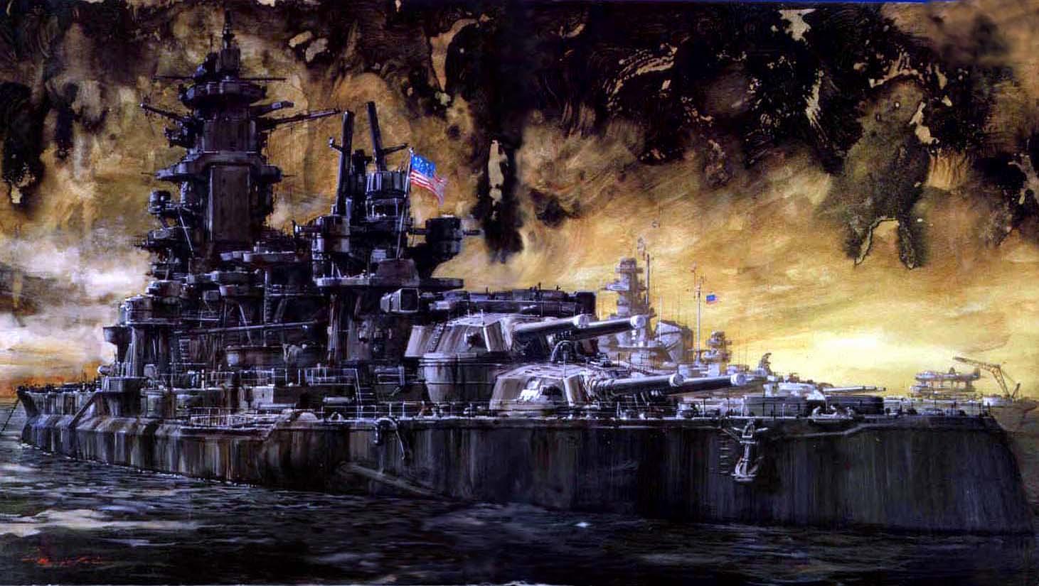 Callow William. Американский флот.