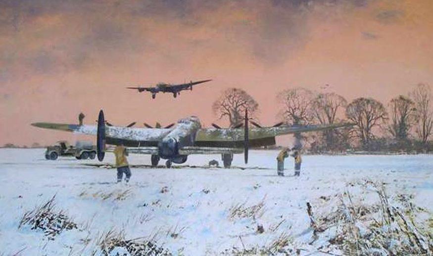 Smith Robin. Бомбардировщик Lancasters.