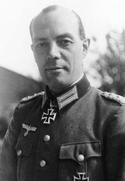 Полковник Рудольф-Кристоф фон Герсдорф.