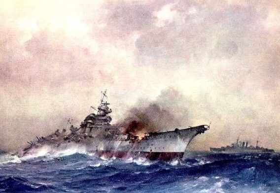 Turner Charles. Линкор «Bismarck».