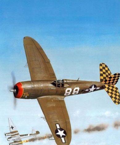 Wyllie Iain. Истребитель Republic P-47D-23.