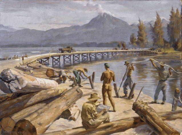 Abbott Harold. Восстановление моста.