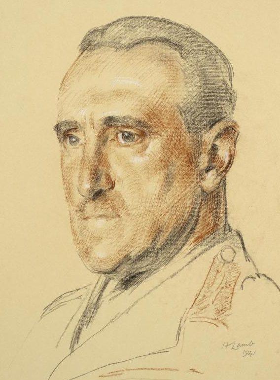 Lamb Henry. Генерал-лейтенант Paget.