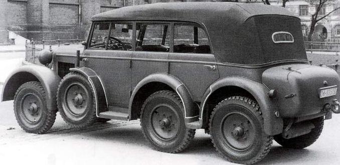 Внедорожник Гитлера Steyr 40-D.