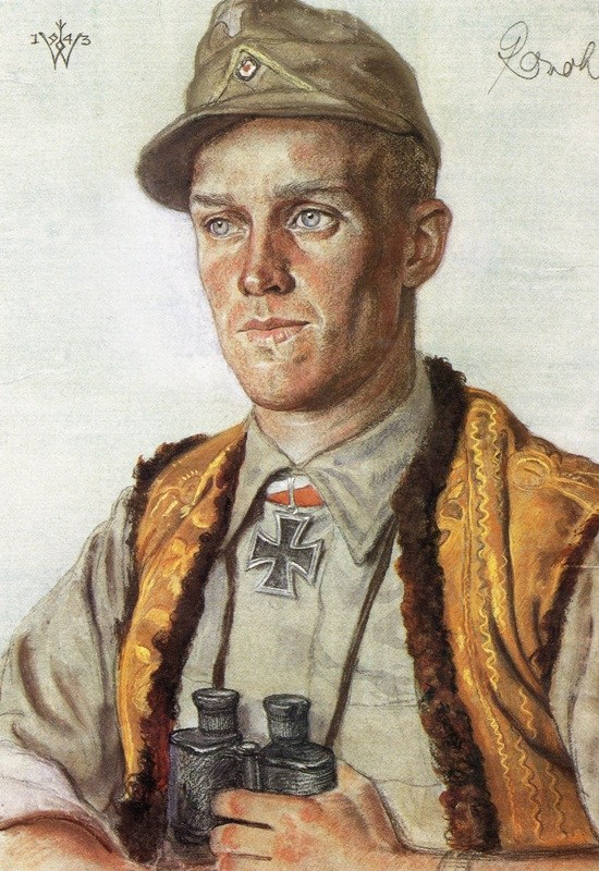 Willrich Wolfgang. Лейтенант Willie RoVal.
